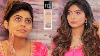Bollywood Style Wedding Guest Makeup Tutorial - Step By Step for Beginners In Hindi