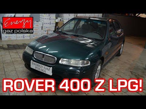 Klasyczny Rover 400 1.6 116KM 1997r Na Auto Gaz LPG BRC W Energy Gaz Polska