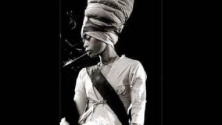 """Today, The earth song"" (Erykah Badu)"