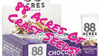 88 Acres Double Chocolate Mocha Seed Bars Taste Test And Review