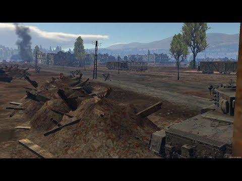 War Thunder Tank Battles #45 - Panther M10 (RB - Port Novorossiysk - 17 Kills)