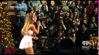 Ariana Grande Z100 iHeartRadio Jingle Ball 2014