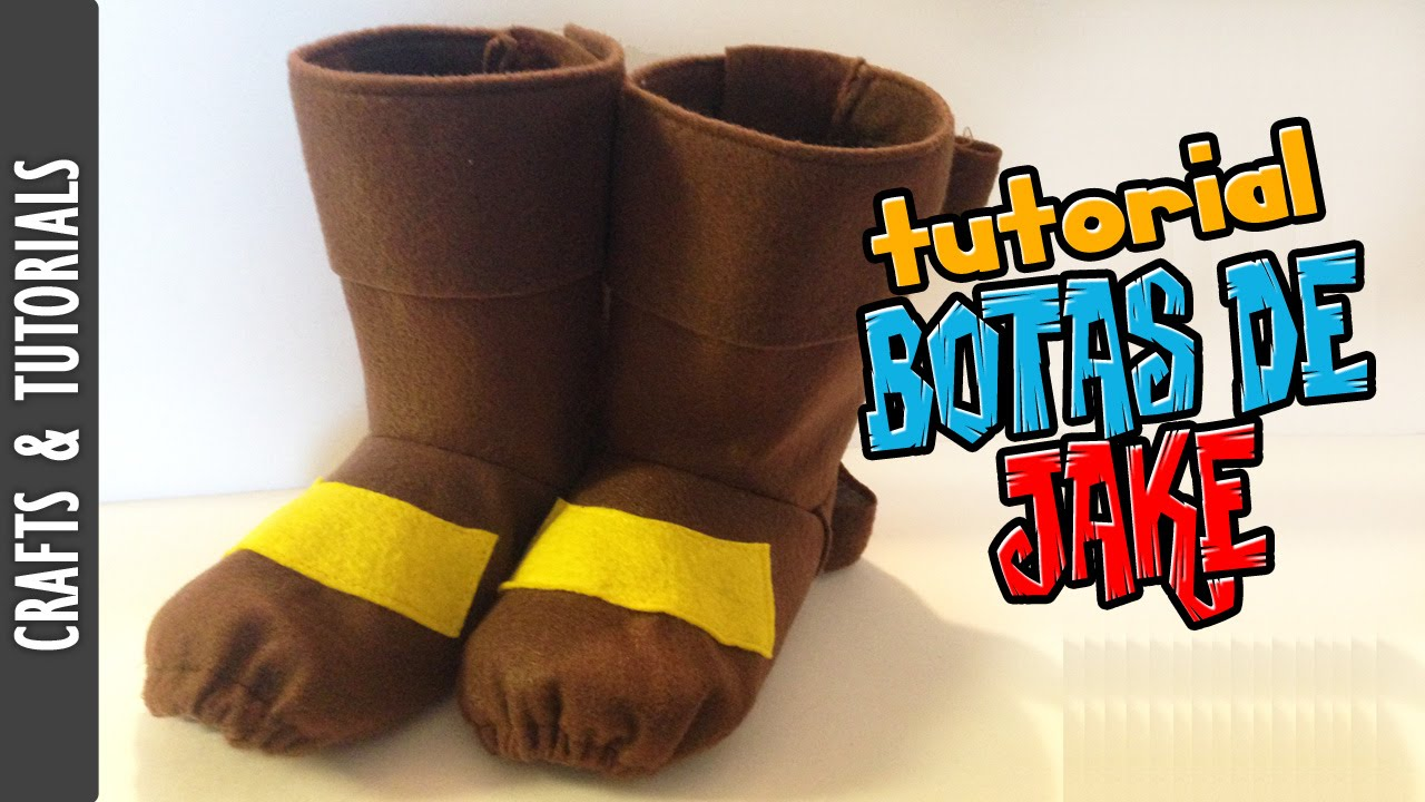 Tutorial Botas De Jake Halloween Los290ss