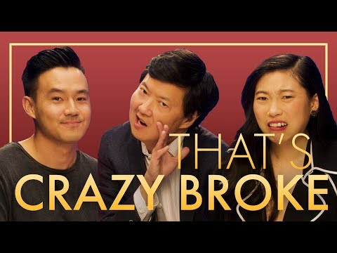 Are they Crazy RICH or Crazy BROKE?  ft Constance Wu, Ken Jeong, Awkwafina