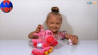 ✔ Хелло Китти - Игрушка Самолет и Ярослава. Hello Kitty is a toy airplane for Yaroslava. Серия 33 ✔