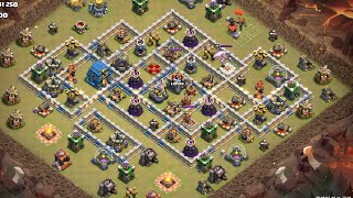 TH12 War Attack_Queen walk pebowitch_#34_[Clash of Clans] _클래시오브클랜 12홀 퀸힐 페볼마 완파_2018