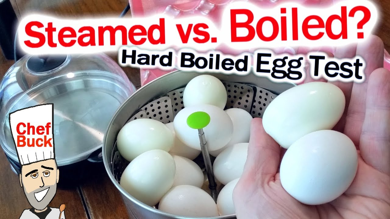 Steamed Eggs vs Boiled Eggs ...which is better