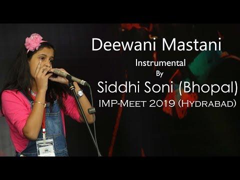 Deewani Mastani Harmonica | Siddhi Soni | Bajirao Mastani