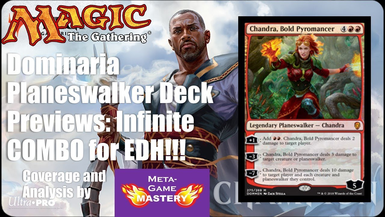 Dominaria Planeswalker Deck Previews: Infinite COMBO for EDH!!!