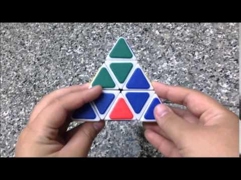 สอนวิธีการเล่นรูบิคสามเหลี่ยม Pyraminx