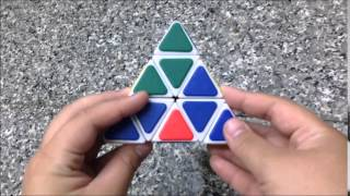 สอนว ธ การเล นร บ คสามเหล ยม pyraminx