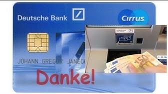 Kostenlos: Bareinzahlung auf Direktbank über SparCard ✔