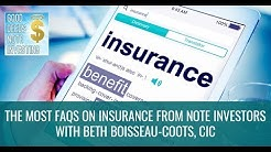 Types of Insurance For Investors - Good Deeds Note Investing