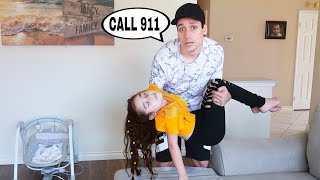 Can't Believe This Happened While Pranking Dad!! | Jancy Family