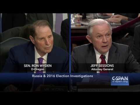Jeff Sessions: 'Senator Wyden, I am not stonewalling.'