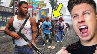 GTA 5 Zombie Apokalypse ÜBERLEBEN!