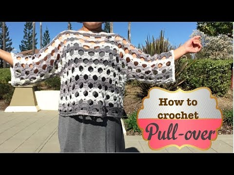How to crochet Pull-over