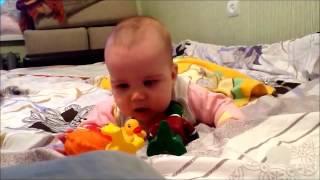 Как научить ребенка говорить? Первые слова малыша!