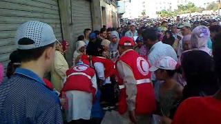 تحية لرجال الهلال الأحمر المغربي 2017 Video