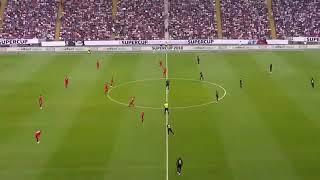 أهداف مباراة بايرن ميونخ وآينتراخت فرانكفورت 0/5 نهائي كاس السوبر الالماني ، هاترك روبرت ليفاندوفسكي