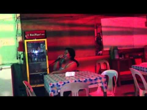 Karoake bar in Kalibo (Philippines)