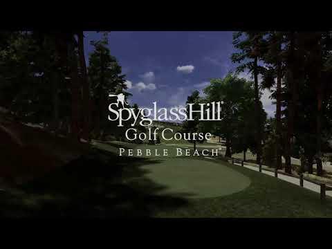 Spyglass Hill GC Flyover on Full Swing GOLF Software