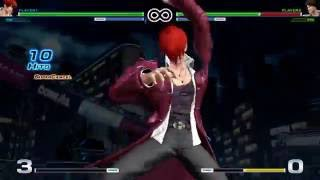 The King of Fighters XIV Combos - Iori (12/14)