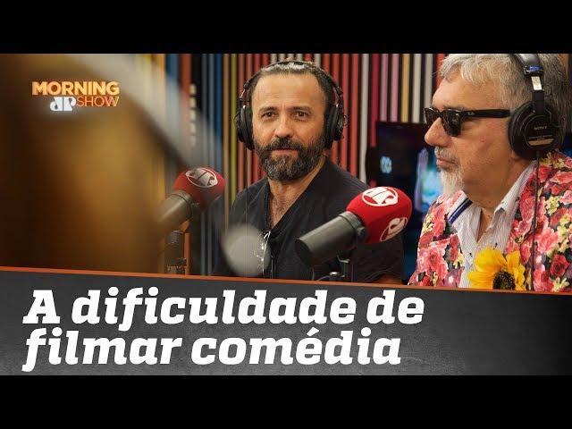 """A dificuldade de filmar comédia: cineasta Halder Gomes, de """"Cine Holliúdy 2"""""""