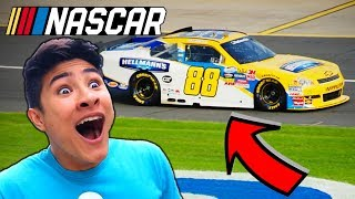 NASCAR Drive with DALE EARNHARDT JR ! (PART 2)