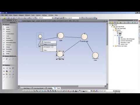 Membuat Robustness Diagram Pada Ea Youtube