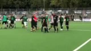 Tätlichkeit beim Spiel Alemannia Trier gegen Udelfangen