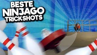 10 LEGO NINJAGO TRICKSHOTS!