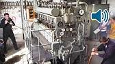 Start eines U-Boot-Motors aus dem 2. WeltkriegSchiffsdiesel 🔊