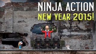 Ниндзя в деле: Новогодний выпуск 2015!