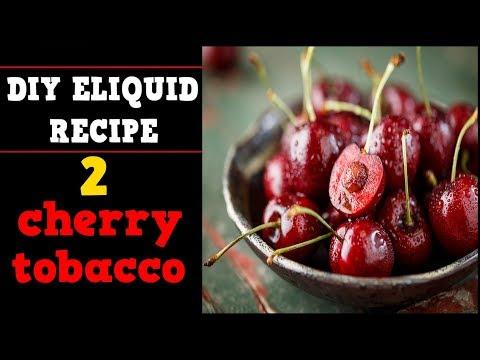 2 Cherry Eliquid Aromatic Tobacco DIY Recipes (light & bold)