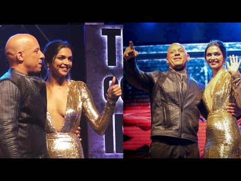 Deepika Padukone And Vin Diesel INTERACTS With FANS | xXx India Premiere In Mumbai, India