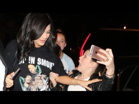 "Kylie Jenner SNAPS ""Don't Touch Me!"" At Young Fan, Blames Security Mp3"