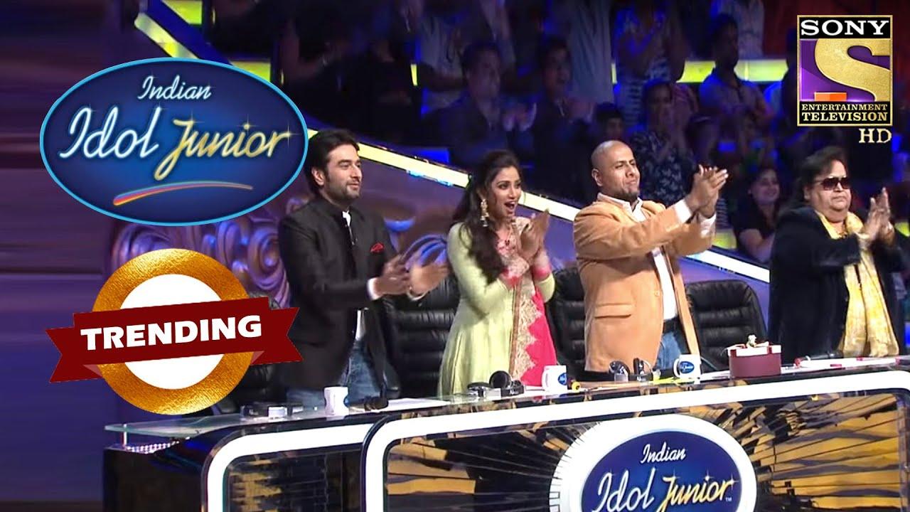 Download Judges ने इस Classical Performance पे दिया Standing Ovation | Indian Idol Junior | Trending