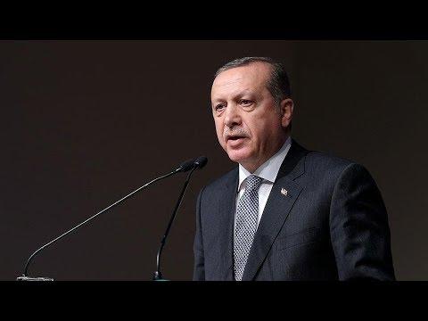 Cumhurbaşkanı Erdoğan, Anayasa Mahkemesinin 56. kuruluş yıl dönümü dolayısıyla düzenlenen yemekte ko