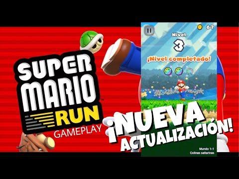 Super Mario Run Gameplay ¡Actualización! Remix 10, Nuevos Niveles - 동영상