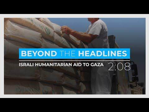 Humanitarian Aid to Gaza… from Israel