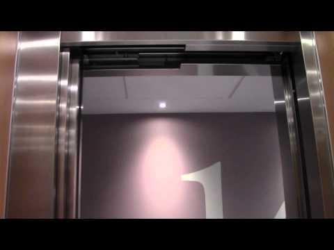2012 KONE MonoSpace MRL Traction Elevators @ Elite Plaza Hotel, Örnsköldsvik, Sweden.