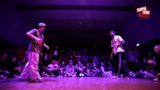 VOLT (KINGZ SQUAD) vs MR. SOMEONE (PARANOYD CREW) | Popping Final | Six 1 Cypher 2015