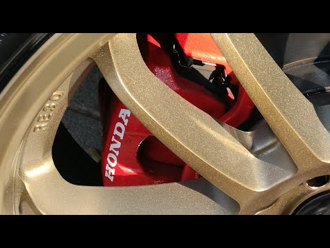 CUSTOM Painting Brake Calipers With Honda LOGO