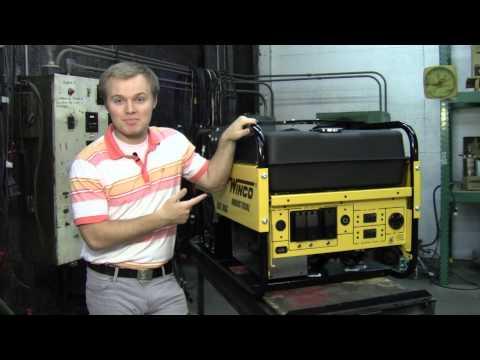 "Winco WL18000VE/WL120000HE ""Big Dog"" Industrial Series Portable Generator"