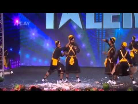 Bir Khalsa Group in Slovakia Got Talent-By Gurbaniforever