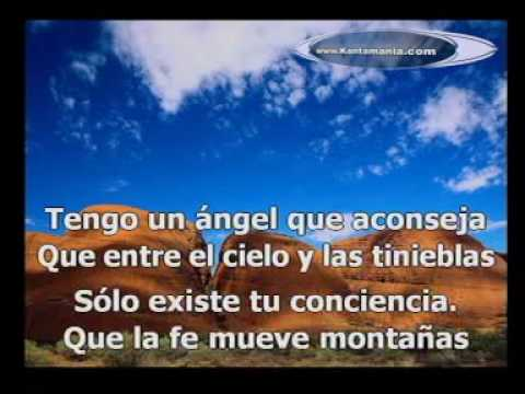 """Angel Mal Herido """"karaoke"""" (el barrio)"""
