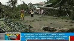 Camarines Sur at Naga City, nasa state of calamity dahil sa pinsalang iniwan ng Bagyong Glenda