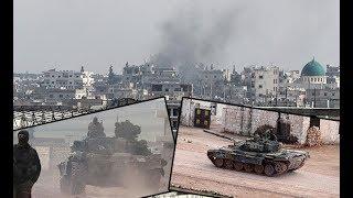 İdlib'de şiddetli çatışmalar! DHA görüntüledi