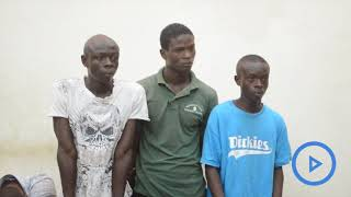 Three suspects jailed for 25 years for jointly sodomising a minor